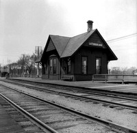 Lathrop Ave. station of the Chicago & Northwestern Railroad, River Forest, c. 1903