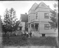500 block of Park Ave., River Forest, c. 1901