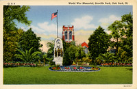 World War I Monument, Scoville Park, c. 1938