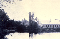 Bickerdike & Noble Sawmill, River Forest, c. 1890