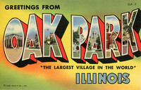 """Greetings from Oak Park"", 1955"