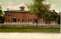 Lowell School, southeast corner of Lake St. & Forest Ave., c. 1909.