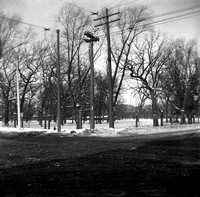 Cummings Square, northwest corner of Lake St. & Harlem Ave., River Forest, c. a902