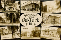 """Greetings from Oak Park"", c. 1910"