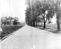 Chicago Avenue, River Forest, 1914