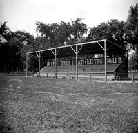 River Forest Athletic Club grandstand, c. 1903