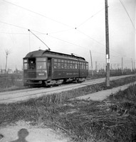 Suburban Electric train eastbound on Harrison Street, 1902