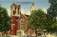 1st Baptist Church, c. 1950
